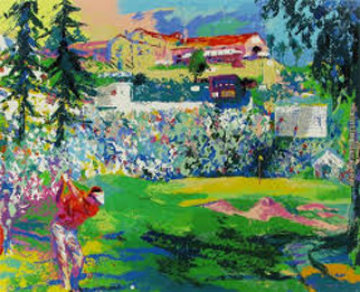 Amphitheater At Rivera 1991 Limited Edition Print by LeRoy Neiman