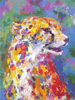Portrait of the Cheetah 2004 Limited Edition Print by LeRoy Neiman