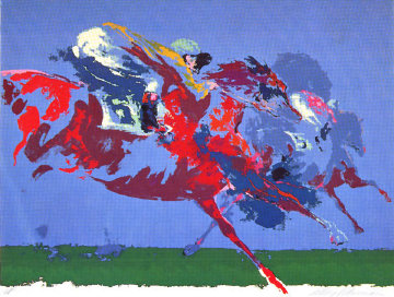 In the Stretch AP 1972 Limited Edition Print - LeRoy Neiman