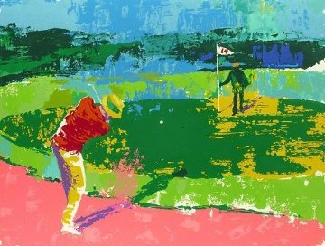 Chipping on 1972 Limited Edition Print by LeRoy Neiman
