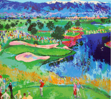 Cove At Vintage AP 1986 Limited Edition Print - LeRoy Neiman