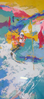Downhill Skier 1973 Limited Edition Print - LeRoy Neiman