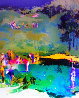 Golf Landscape 1976 Limited Edition Print by LeRoy Neiman - 1