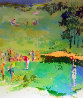 Golf Landscape 1976 Limited Edition Print by LeRoy Neiman - 0