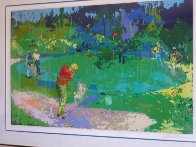 Golf Threesome 1980 Limited Edition Print by LeRoy Neiman - 1