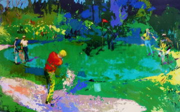 Golf Threesome 1980 Limited Edition Print - LeRoy Neiman