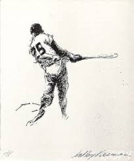 Hit AP 1972 from the Baseball Suite Limited Edition Print by LeRoy Neiman