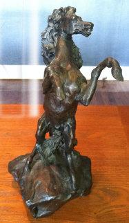 Defiant Bronze Sculpture 1987 Sculpture - LeRoy Neiman