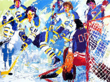 French Connection 1977 Limited Edition Print - LeRoy Neiman