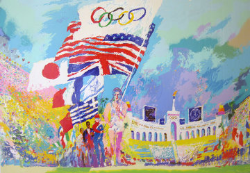 Opening Ceremonies PP 1984 Limited Edition Print by LeRoy Neiman