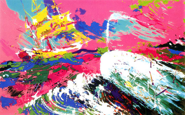 Moby Dick (Book) 1975 Other by LeRoy Neiman