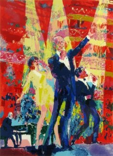 Frank Sinatra, Liza, Sammy Davis at  Royal Albert Hall Limited Edition Print by LeRoy Neiman