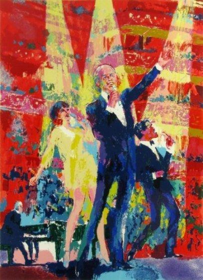 Frank Sinatra, Liza, Sammy Davis at  Royal Albert Hall Limited Edition Print by LeRoy Neiman