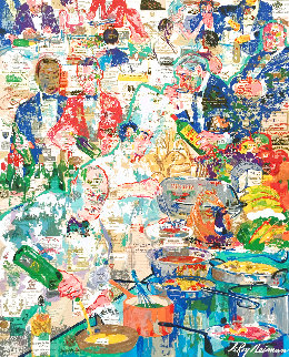 International Cusine 1998 Limited Edition Print - LeRoy Neiman