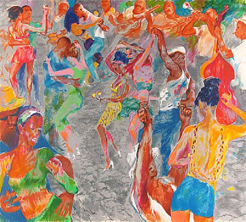 Havana Rhythm 2000 Limited Edition Print by LeRoy Neiman