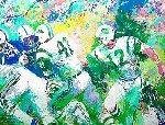 Handoff - Super Bowl III 2007 Limited Edition Print - LeRoy Neiman