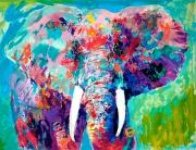 Charging Bull 2006 Limited Edition Print by LeRoy Neiman - 0
