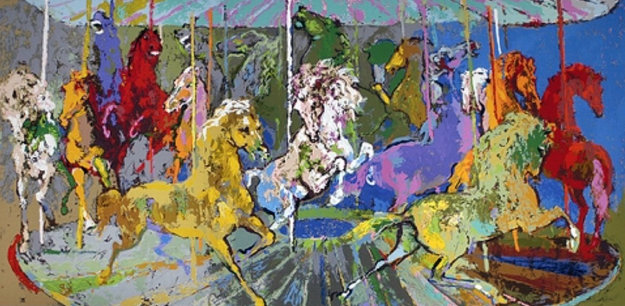Carousel PP 2006 Limited Edition Print by LeRoy Neiman