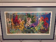 Carousel PP 2006 Limited Edition Print by LeRoy Neiman - 2