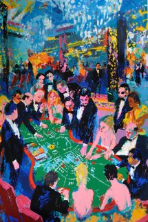 Baccarat 1994 Limited Edition Print by LeRoy Neiman