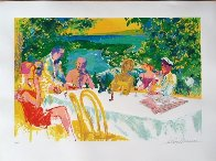 Wine Alfresco 2000 Limited Edition Print by LeRoy Neiman - 1