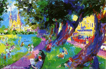 Washington Square 2003 (New York) Limited Edition Print - LeRoy Neiman
