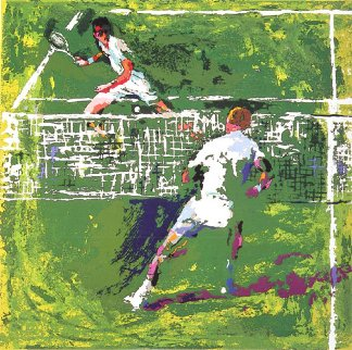 Tennis Players 1971 Limited Edition Print by LeRoy Neiman