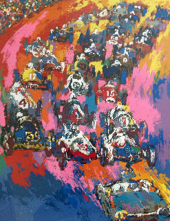 Indy Start '62 AP 1962 Limited Edition Print by LeRoy Neiman