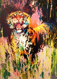 Bengal Tiger 1973 Limited Edition Print by LeRoy Neiman