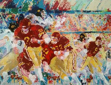 Iowa Vs Minnesota 1983 Limited Edition Print by LeRoy Neiman