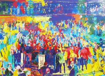 Chicago Board of Trade 1980 Limited Edition Print by LeRoy Neiman