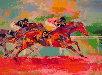 Race of the Year 1980 Limited Edition Print - LeRoy Neiman