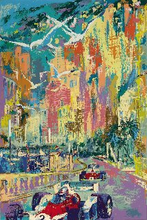 Grand Prix De Monaco 1976 Limited Edition Print by LeRoy Neiman