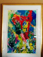 Magic Johnson 1988 Limited Edition Print by LeRoy Neiman - 1