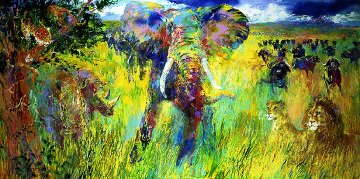Big Five 2001 Limited Edition Print by LeRoy Neiman