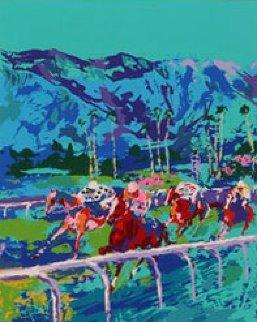 Santa Anita 1979 Limited Edition Print - LeRoy Neiman