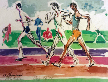 Olympiad Munchen 1972  Limited Edition Print by LeRoy Neiman