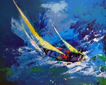 Sailing 1977 Limited Edition Print by LeRoy Neiman