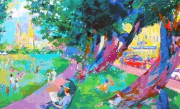Washington Square Park 2003  Limited Edition Print - LeRoy Neiman