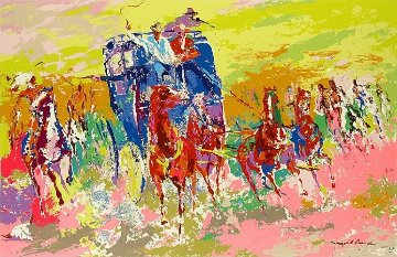 Homage to Remington AP 1973 Limited Edition Print - LeRoy Neiman