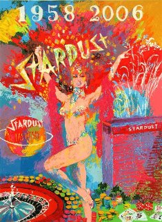Stardust Reflections PP 2006 Limited Edition Print by LeRoy Neiman