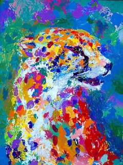 Portrait of a Cheetah 2004 Limited Edition Print by LeRoy Neiman