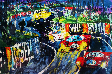 24 Hours at Le Mans 1987 Limited Edition Print by LeRoy Neiman