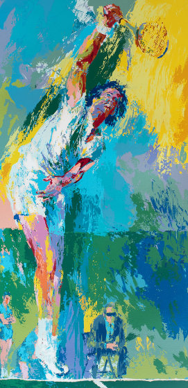 Sun Serve 1976  too high Limited Edition Print by LeRoy Neiman