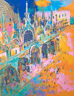 Piazza San Marco 1972 Limited Edition Print by LeRoy Neiman
