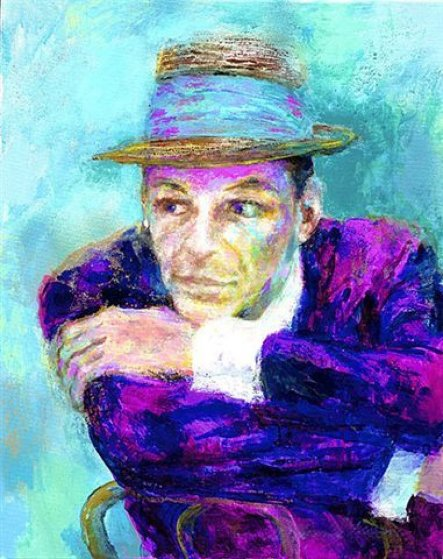 Voice - Frank Sinatra 2002 Limited Edition Print by LeRoy Neiman