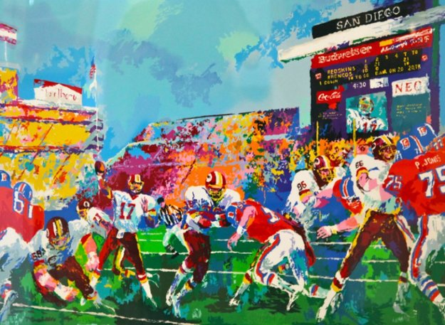 In the Pocket AP 1988 Limited Edition Print by LeRoy Neiman