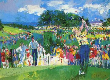 April At Augusta 1990 Limited Edition Print - LeRoy Neiman