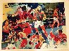 Homage to Ali 1991 Limited Edition Print by LeRoy Neiman - 1
