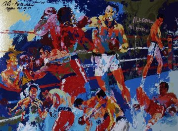 Homage to Ali 1991 Limited Edition Print - LeRoy Neiman